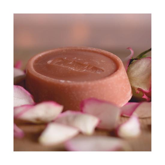 Rózsafaolajos-kecsketejes szappan